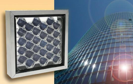 Сотовидные солнечные панели будут выступать в роли фасадов зданий