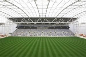 Завершено строительство первого в мире закрытого стадиона с дерновым покрытием в новой Зеландии