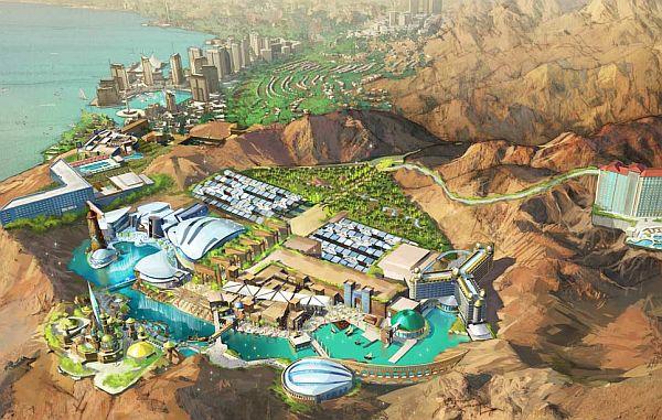 В Иордании планируется строительство парка для фанатов сериала «Звездный Путь» («Star Trek»)