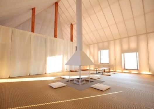 В Японии построен экспериментальный дом для сурового климата