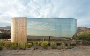 Новый павильон на юге Испании отражает окружающий пейзаж