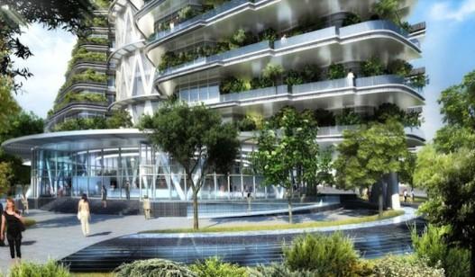 Agora Tower: «скручивающийся» небоскреб в Тайбэе предлагает новые возможности жильцам