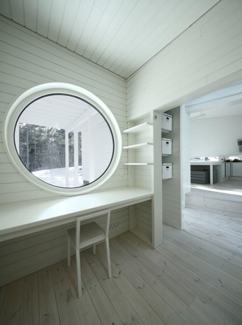 В Финляндии построен деревянный дом, который будет теплым в любое время года даже без центрального отопления