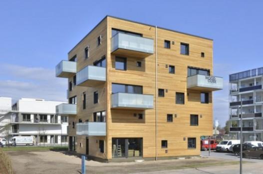 Woodcube: углеродно-нейтральный пятиэтажный деревянный ...