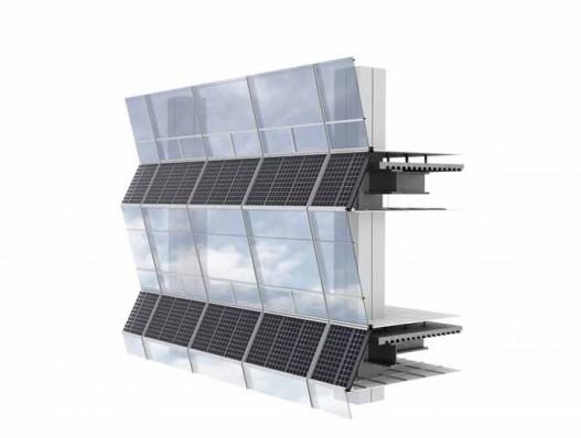 В Корее построен 240-метровый небоскреб с уникальным фасадом на солнечных батареях