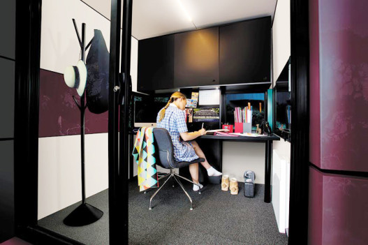 Harwyn Pod: крошечные каркасные кабинки для работы и отдыха, которые можно собрать за пять часов