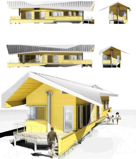 В шотландии будут строить непотопляемые дома