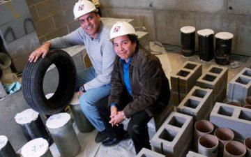Ученые используют утильные покрышки для повышения упругости строительных блоков