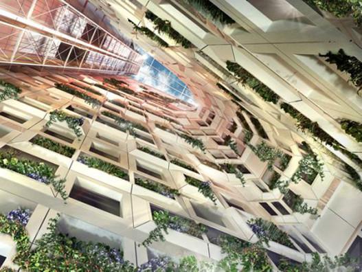 В Канаде построили «зеленый» отель