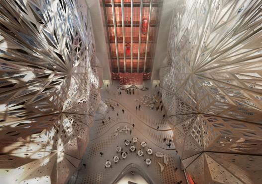 Заха Хадид представила новый проект отеля для «Города мечты» в Макао