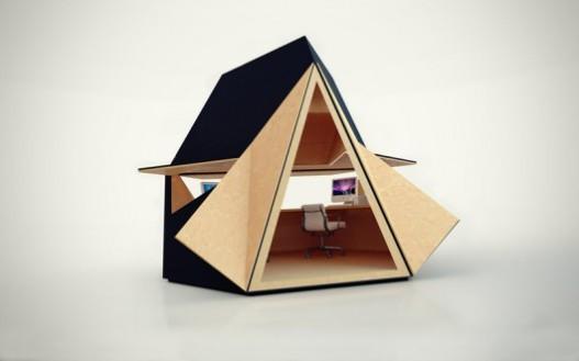 Инновационный модульный дом Tetra Shed скоро поступит в продажу
