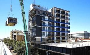 One9: как построить девятиэтажный сборно-каркасный дом всего за 5 дней