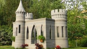 3D-печатный замок, построенный на заднем дворе дома, предвещает будущее архитектуры