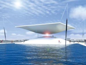 """Гиганские солнечные """"песочные часы"""" будут генерировать энергию для датских домов"""