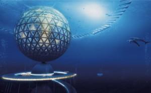 Японская фирма планирует построить первый в мире подводный город на возобновляемой энергетике
