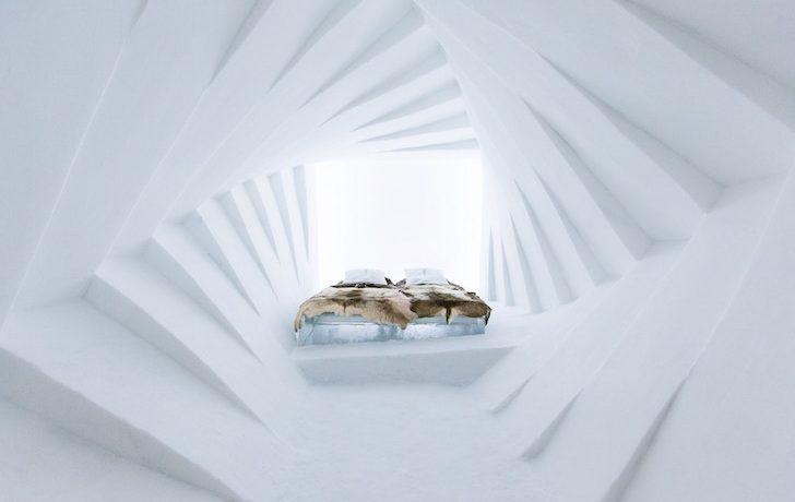 Ледяной отель ICEHOTEL в Швейцарии отмечает 25-летие