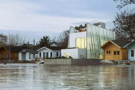 Британские архитекторы придумали конструкцию плавучего дома с открытым исходным кодом