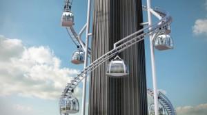 В Новом Орлеане будет построен небоскреб с гондолами