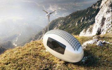 Ecocapsule – новый микро-дом для автономного проживания