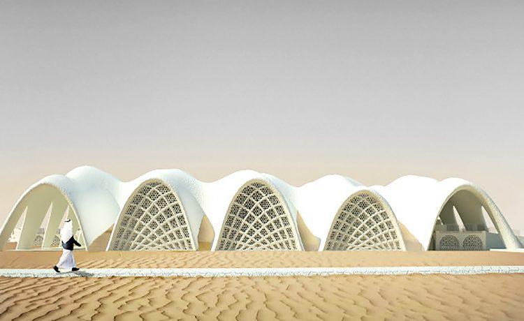 Голландский архитектор предлагает проект самодостаточного города, построенного из соли