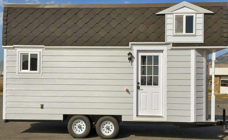 Victorian Prepper: новый крошечный дом на колесах готов выдерживать удары стихий