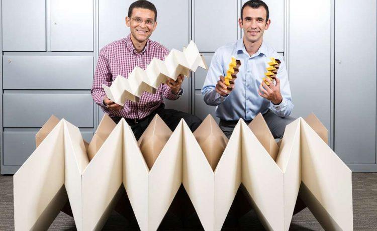 Новая конструкция в стиле оригами может быть использована для строительства зданий и мостов