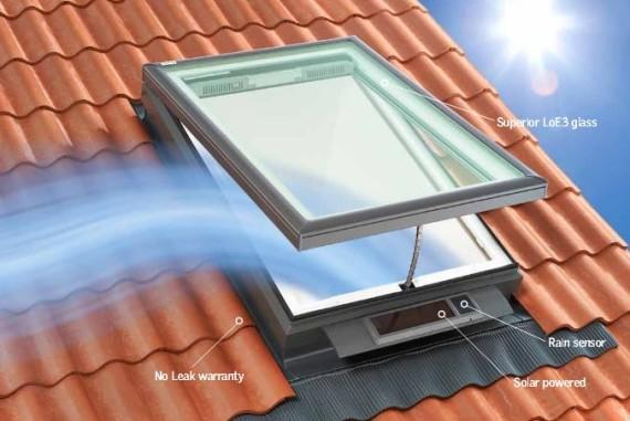 Новое мансардное окно от Velux: еще больше дневного света, еще больше воздуха