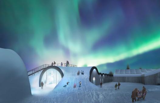 В Швеции будет построен ледяной отель, в котором можно будет охладиться даже летом