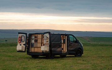 Концептуальный фургон Nissan NV300: мобильный центр для мастеров-ремесленников