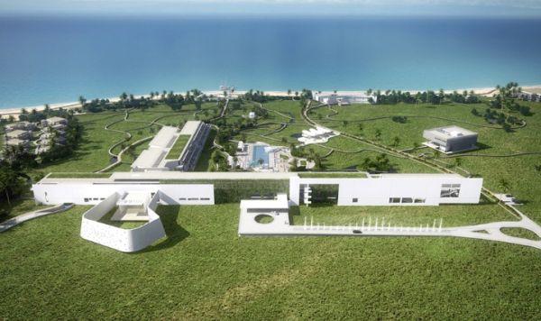 W Retreat & Spa Kanai: архитектурное чудо Ричарда Мейера