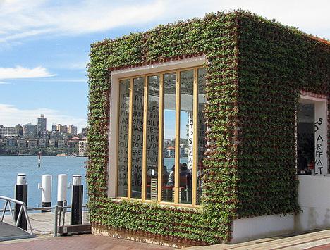 Greenhouse: «безотходный» ресторан из соломы