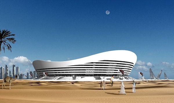 Самый экологичный стадион в мире скоро будет построен в Катаре