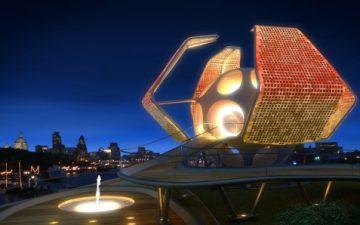 Трансформируемая «Комната для Лондона» от Sanzpont
