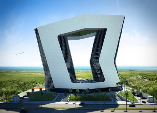 GSI Tower в Канкуне – знаковый комплекс на Карибском море