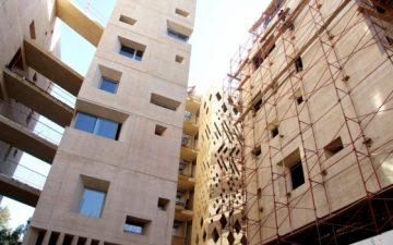 Машрабия: технология 12-го века на новый лад для кампуса университета в Бейруте