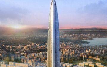 600-метровая аэродинамическая эко-башня будет построена в Китае