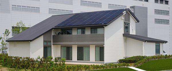 Sharp тестирует экологичные продукты в своем «максимально энергосберегающем» доме