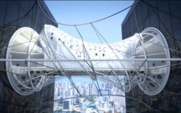 DSSH мост производит экологически чистую энергию и очищает воздух