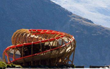 Смотровая площадка Evolver позволит любоваться панорамами Альпийских гор