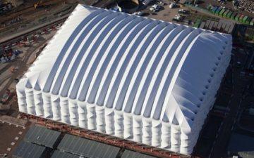 Инновационный баскетбольный стадион в Лондоне построен для Олимпийских игр – 2012