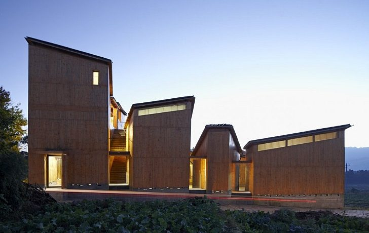 При строительстве музея бумажного ремесла в Китае не было использовано ни единого гвоздя