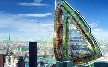 Dragonfly: гигантская крылатая вертикальная ферма будет построена в Нью-Йорке