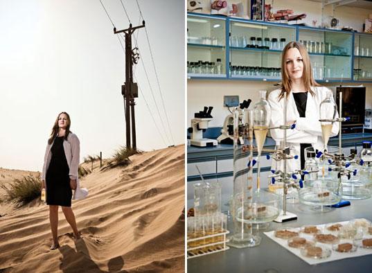 Ученый выращивает прочные «био-кирпичи» из песка, бактерий и карбамида