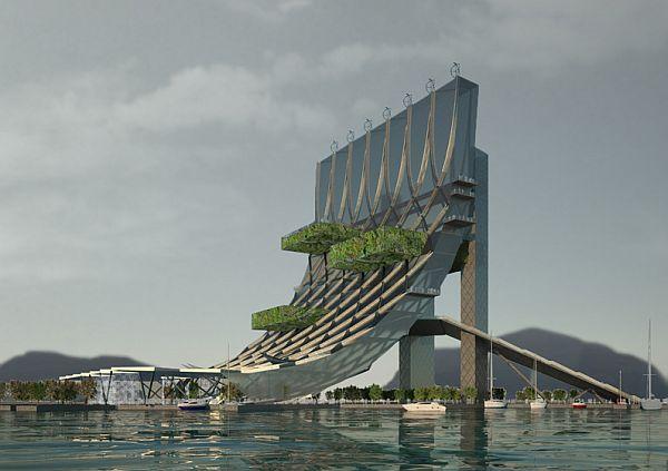 Какая она, жизнь под водой? Проект павильона для Международной выставки Йосу-2012