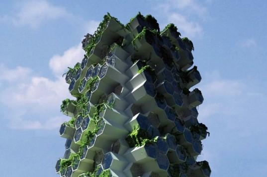 Новая лондонская вертикальная ферма похожа на улей, но в ней будут жить люди