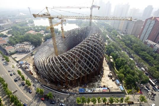 Спиральный Центр Феникс строится в Пекине
