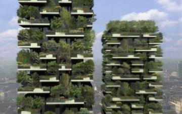 Bosco Verticale в Милане станет первым в мире вертикальным лесом