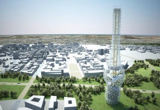 Энергогенерирующий небоскреб Tower of Power будет построен на Тайване