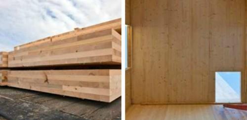 CrossLam: новые кросс-клееные панели из древесины от Structurlam