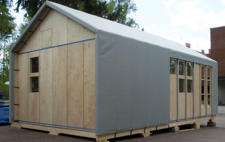 Liina: новая модульная конструкция временного жилья, которая не нуждается в инструментах для сборки